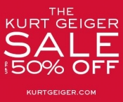 Kurt Geiger Christmas Day Offer – 10% off EVERYTHING