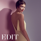 Maggie Gyllenhaal is the cover girl of THE EDIT