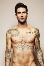 Adam Levine, the sexiest man alive makes clothes