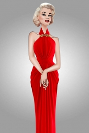 AmfAR Cannes Gala, an all in red fashion edition