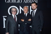 Armani elegance for The Wolf of Wall Street, Leonardo di Caprio