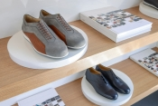 Aston Martin footwear collection designed and manufactured by Pakerson