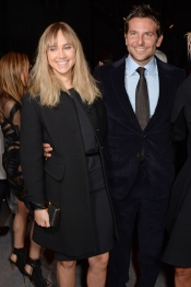 Bradley Cooper and Suki Waterhouse at Tom Ford fashion show