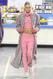 Chanel Fall 2014 fashion trend: consumerism