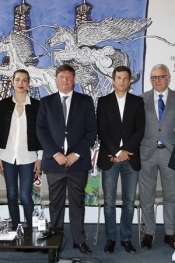 Charlotte Casiraghi, the Gucci Ambassador for Paris Eiffel Jumping
