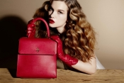 Charlotte Olympia's new collection of leather bags and shoes mean business