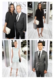 Celebrities at the Boss & Jason Wu New York Fashion show