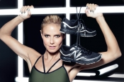 Yoga, fitness lovers, Heidi Klum has prepared an athletic collection