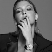 Bar Refaeli, the first female face for Hublot