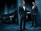 Lewis Hamilton and Nico Rosberg for Hugo Boss & Mercedes AMG Petronas