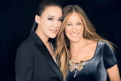 Cindy Chao and Sarah Jessica Parker make the Ballerina Butterfly pin