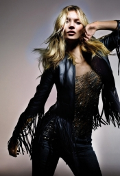 Capsule collection Kate Moss & Topshop at Lafayette Galeries