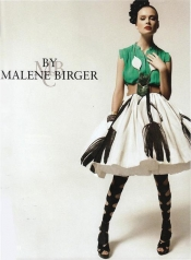 The fashion designer BY MALENE BIRGER quits her job