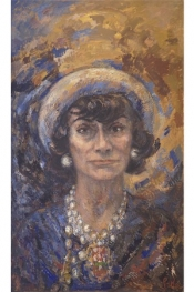 Coco Chanel: A New Portrait Painted By Marion Pike