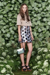 The Delphinium bag from Mulberry Spring 2015 fashion show