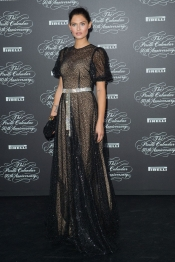 Bianca Balti at the Pirelli 50th anniversary in Milan