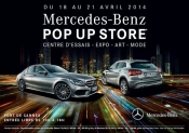 Mercedes Pop Up Store opening in Cannes