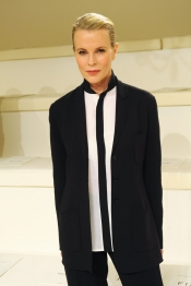 Kim Basinger at Ralph Lauren fashion show