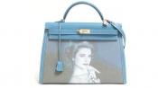 A Kelly handbag for auction to honor Grace of Monaco