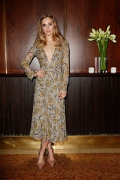 Suki Waterhouse Celebrates Burberry in Munich