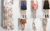 The must have fashion trends for this summer: printed floral skirts