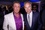 Beaucoup de celebrites a la fete d'Armani pendant le Festival de Cannes