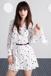 Zooey Deschanel collaboration With Tommy Hilfiger
