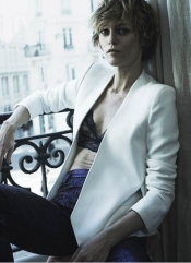 Vanessa Paradis talks about her new silhouette in the interview for The Edit