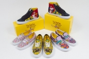 Capsule collection of Vans and The Beatles Yellow Submarine
