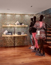A new boutique Chanel at Courchevel