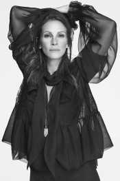 Julia Roberts in the Givenchy Campaign