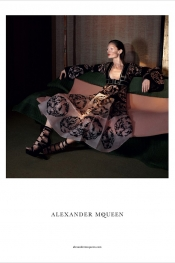 Rich touch for Alexander McQueen Spring Summer 2015 Campaign
