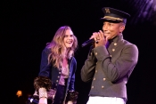 Pharrell Williams, Cara Delevingne pour Chanel Party à New York
