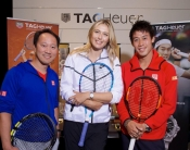 3 great Tennis Champions for the Generosity Challenge