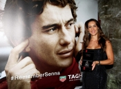 Ayrton Senna, again as TAG Heuer ambassador