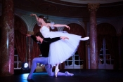 The Bolshoi Ballet stars perform at the exclusive Hommage aux Grimaldi Gala Dinner in Monte Carlo
