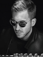 Calvin Harris, the new face of Armani Autumn/Winter 15