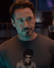 Vanilla Underground brings Robert Downey Jr T Shirt to Europe