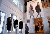Carine Roitfeld x UNIQLO collection was launched today