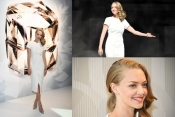 Amanda Seyfried in Japan to promote the beauty brand SHISEIDO