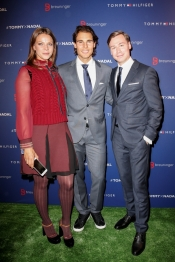 Rafael Nadal plays tennis for Tommy Hilfiger