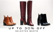 Up to 30% Off Selected Boots at Kurt Geiger
