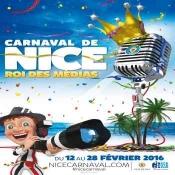 Media King for the 2016 Nice Carnival