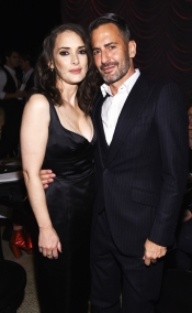 Marc Jacobs throws party with Winona Ryder for the new mascara
