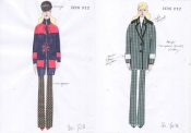 Ion Fize, Severine Autumn / Winter 2016/17 collection