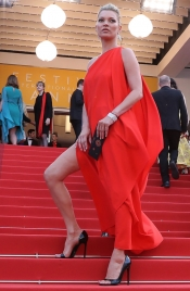 Kate Moss on the Red Carpet of Festival de Cannes after 15 years