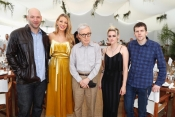 Blake Lively, Kristen Stewart and Woody Allen at Nikki Beach Cannes