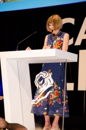 Anna Wintour and Will Smith at Cannes Lions, the inspiration dose