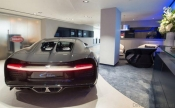 Bugatti reopens newly designed showroom in London