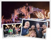 Fight Night creates the show in Saint-Tropez